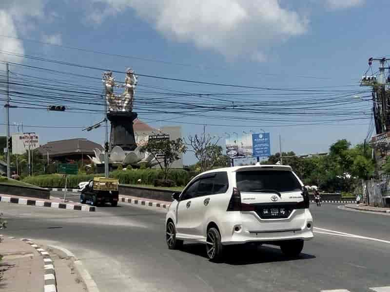 Most favorite transportation in Bali is renting a car