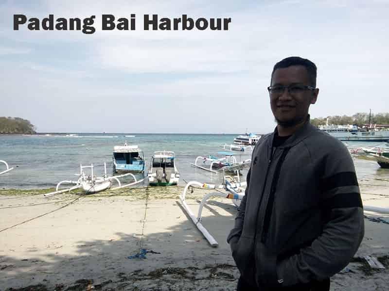 Harbour of Padangbai