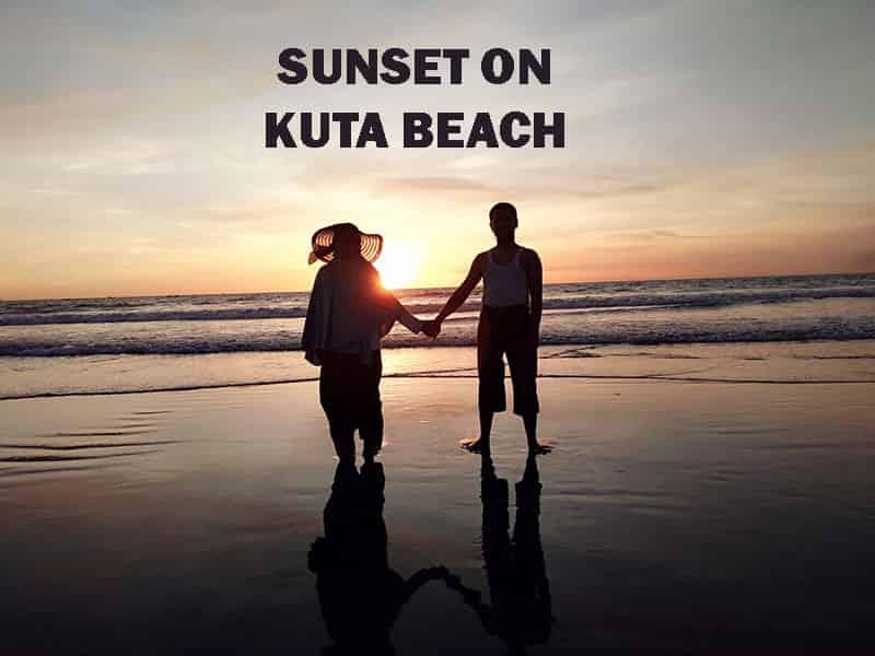 The Legendary Kuta Beach on Sunset